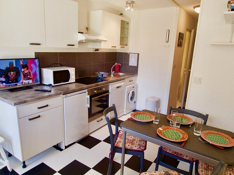 pied de piste, terrasse et équipement top, holiday rental in Valfrejus