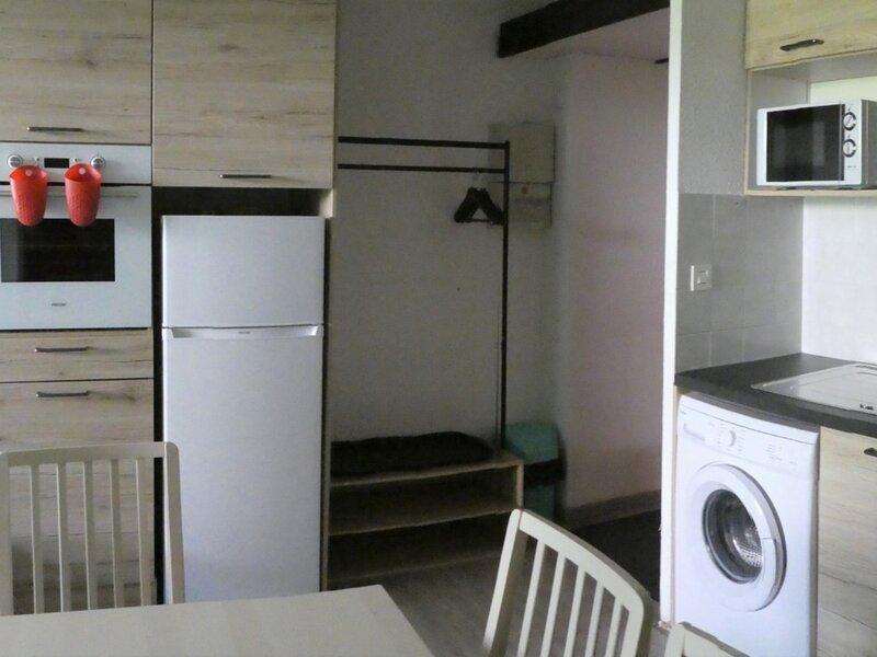 Appartement 6 personnes rez de jardin pied des pistes 116A Les Aurans Réallon, holiday rental in Reallon