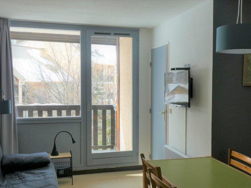 Appartement 6 personnes pied des pistes 360R Le Relais Réallon, alquiler de vacaciones en Reallon