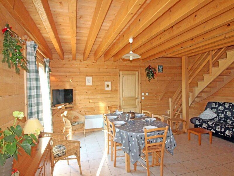 Location Chalet Le Syndicat, 4 pièces, 6 personnes, location de vacances à Tendon