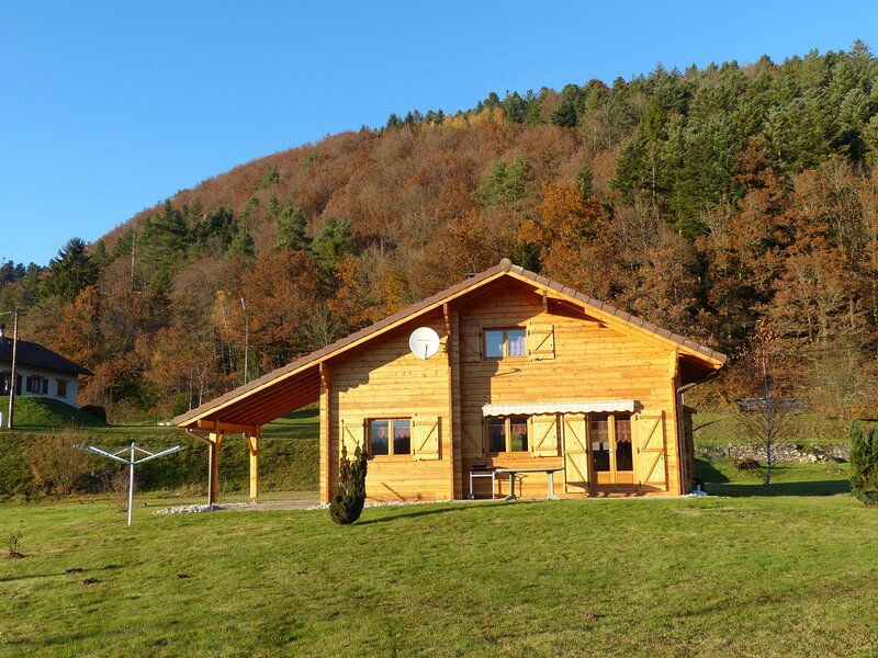 Chalet des Hautes-Vosges, location de vacances à Rochesson