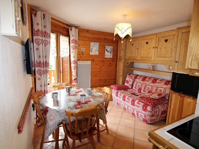 SECTEUR FORET DES RENNES - 2 pièces cabine 27 m² classé 2**, holiday rental in Villard-sur-Doron