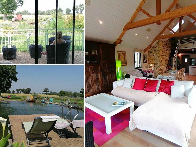 Gite de la Baignade Naturelle, holiday rental in Armaille