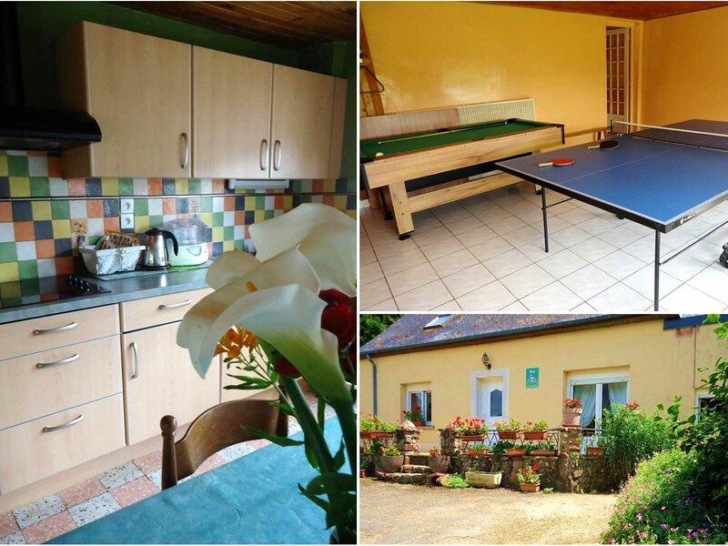 La Boyère, holiday rental in Saint Aubin du Desert