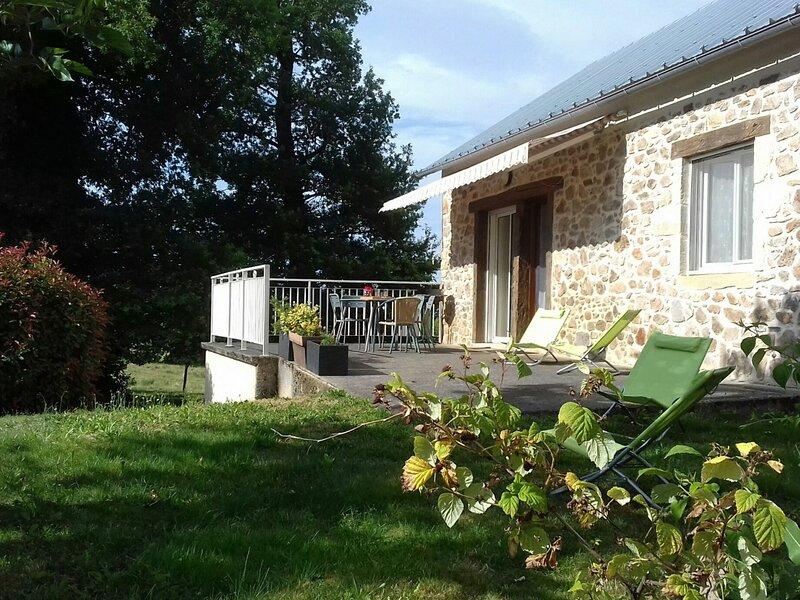 Gîte Agréable et Lumineux, location de vacances à Cransac