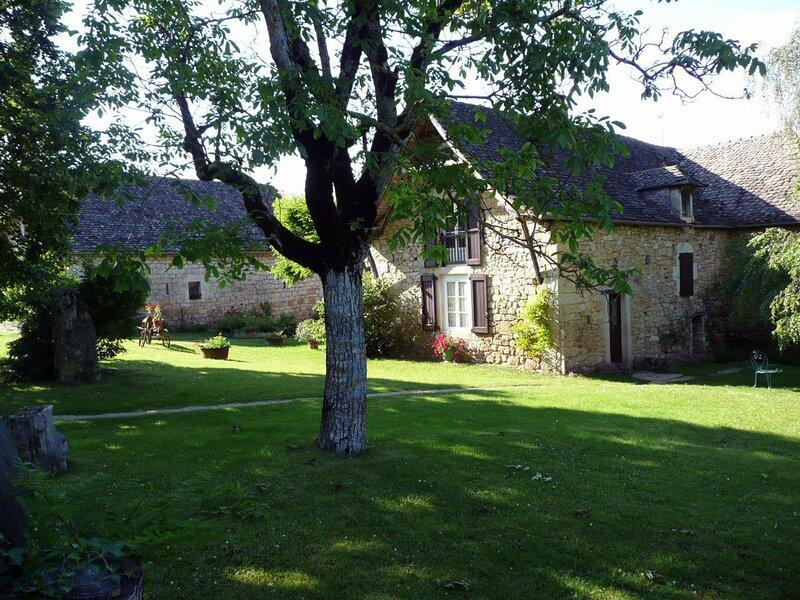 Gîte dans un hameau paisible, location de vacances à Flavin