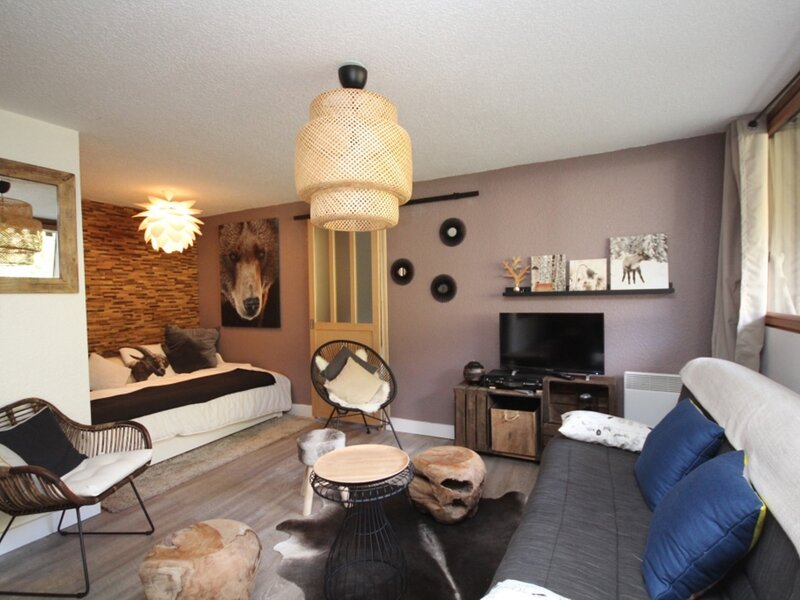 AU PIED DES PISTE AGREABLE T2 BIS, holiday rental in Chastreix