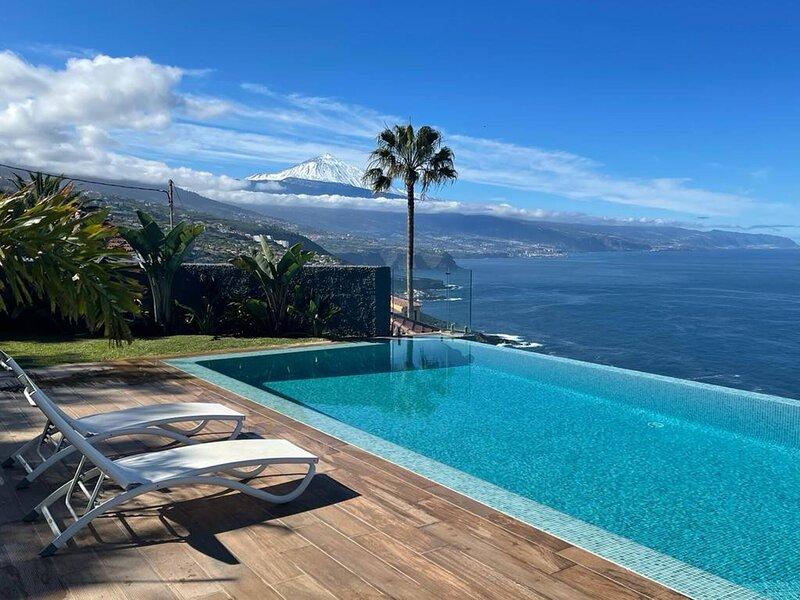 Crystal Ocean Villa Lavaderos, holiday rental in El Sauzal