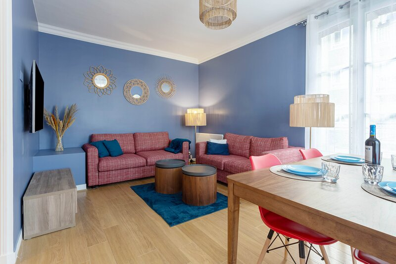 Morny Rose - Appartement 2 chambres proche plage, aluguéis de temporada em Deauville