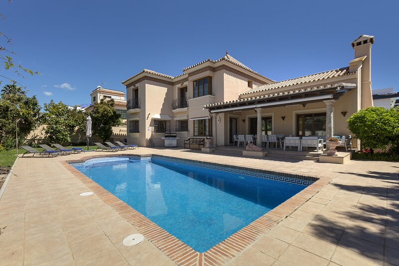 Villa Magnolia, location de vacances à San Pedro de Alcantara