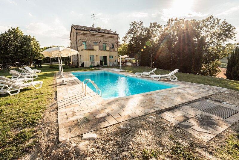 Vllla Amalia, holiday rental in Montedinove