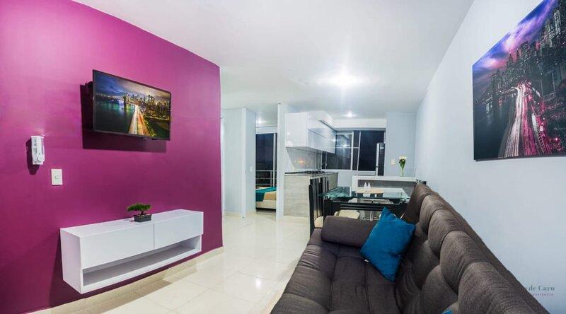 Bello Apartamento Cerca al Parque del Cafe, Piscina, Jacuzzi y Turco, holiday rental in Pueblo Tapao