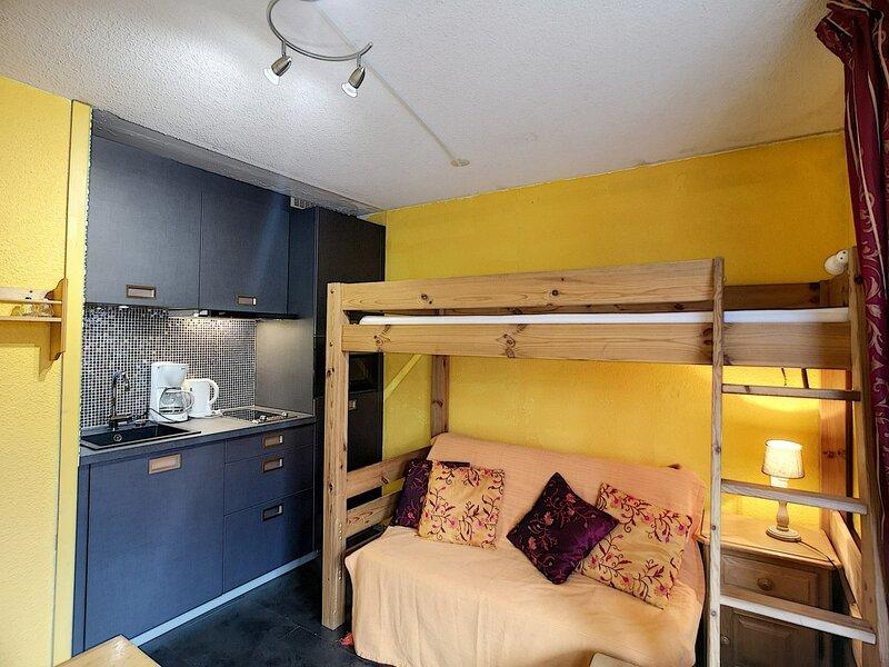 SORBIER 229 -  Agréable studio  ensoleillé pour 3 pers disposant d'un balcon, holiday rental in Les Bruyeres