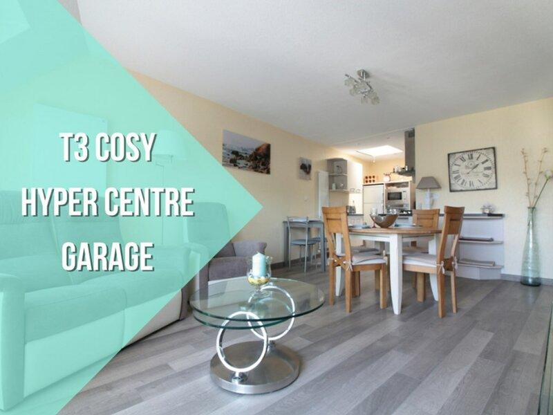 Appartement 3 pièces 4 personnes avec garage - Centre ville de Vannes, holiday rental in Saint-Ave