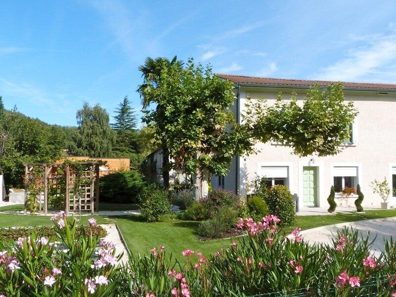 La Fraiseraie, holiday rental in Pelussin