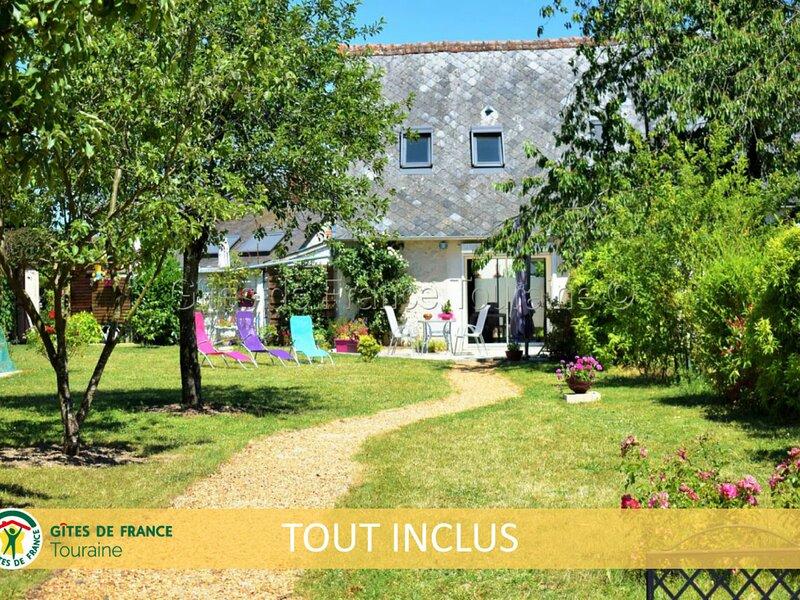 La Grange Soleil, vacation rental in Esvres