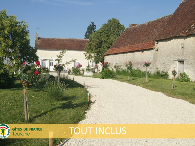 Gîte Orfeuil, holiday rental in Genille