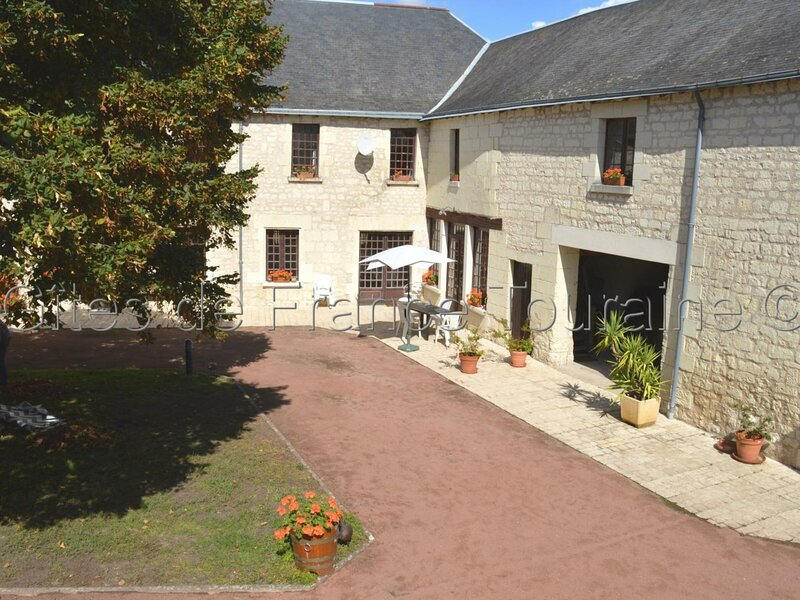 Le Jardin d'hiver, holiday rental in Panzoult