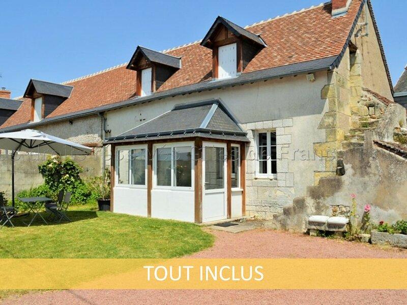 La Rainerie, holiday rental in Souvigne