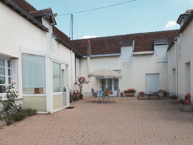 Gîte de Claudine, location de vacances à Chancay