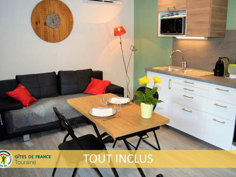 L'Escapade d'Azay, holiday rental in Saint-Epain