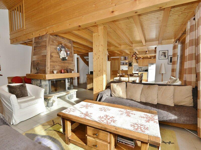 Grand appartement, 8 personnes, 4 chambres, proche commerce et pistes!, location de vacances à Brizon