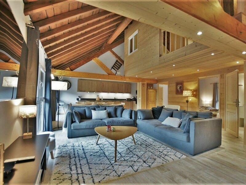 Magnifique appartement pour 10 personnes, location de vacances à Sixt-Fer-a-Cheval