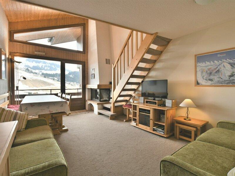Appartement 7 personnes, 3 chambres, proche commerces, vue sublime!, location de vacances à Le Petit-Bornand-les-Glières