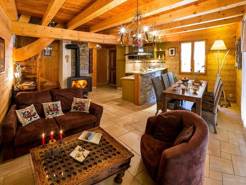 Chalets 7/8 pl 8 couchages ST MICHEL DE CHAILLOL, holiday rental in La Motte-en-Champsaur