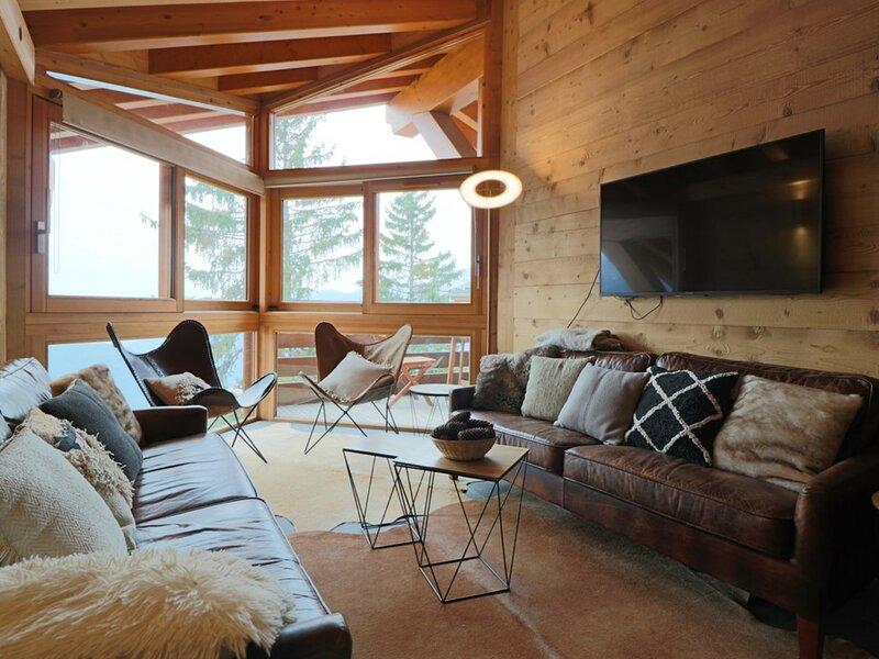 LUXUEUX APPARTEMENT AU PIED DES PISTES, holiday rental in Montvalezan