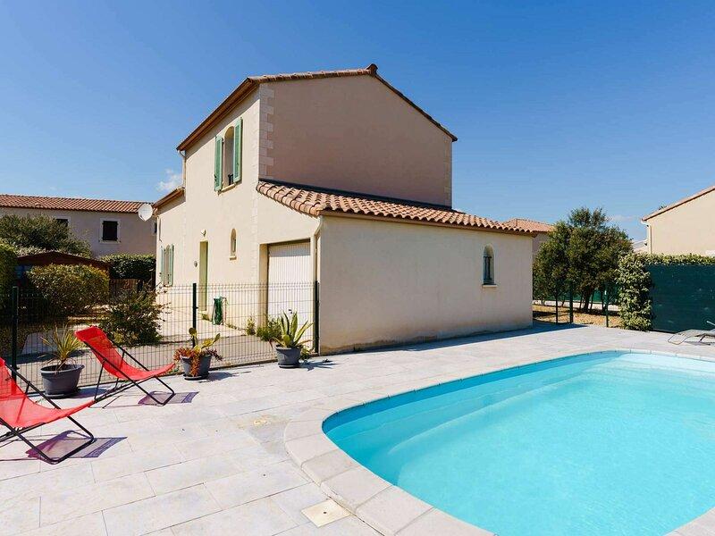 GB3-42 : NARBONNE-PLAGE : Villa 4 pièces 7 couchages avec piscine privative, alquiler vacacional en Narbonne-Plage