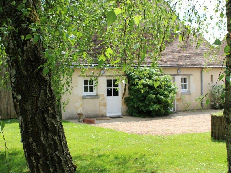 Location Gîte Mareil-sur-Loir, 3 pièces, 6 personnes, alquiler vacacional en Malicorne-sur-Sarthe