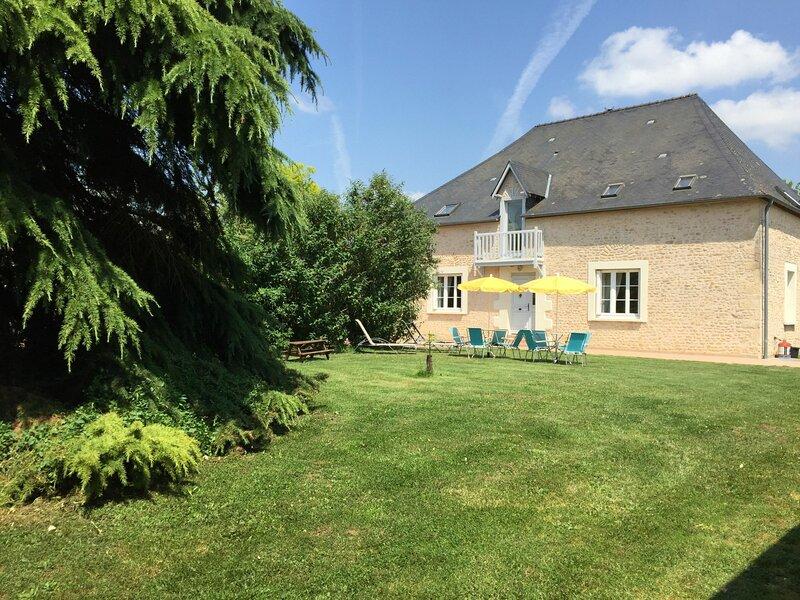 Location Gîte Épineu-le-Chevreuil, 4 pièces, 7 personnes, location de vacances à Saint-Denis-d'Orques