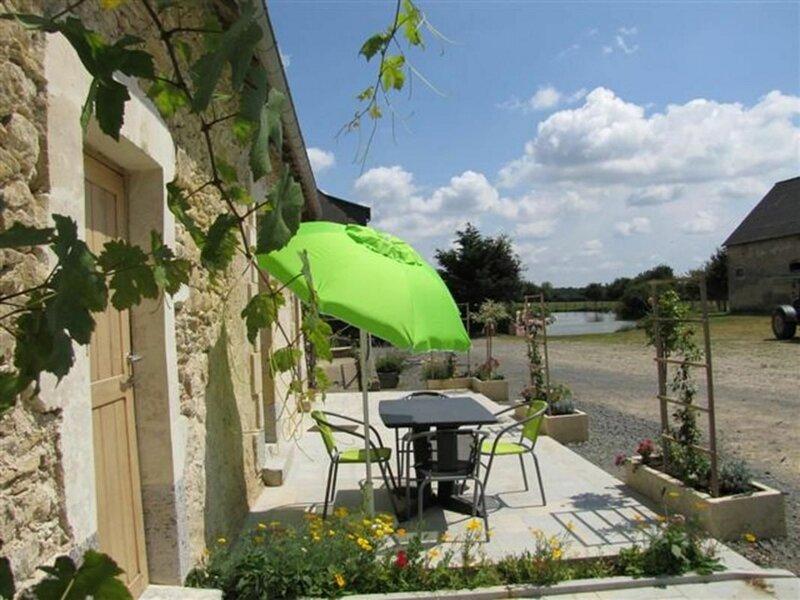 Location Gîte Crannes-en-Champagne, 3 pièces, 5 personnes, alquiler vacacional en Ferce-sur-Sarthe