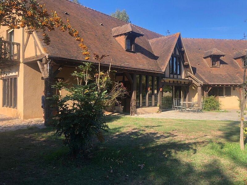 La Gontardière, location de vacances à Aubigne-Racan
