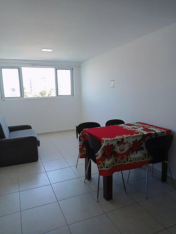 ⭐ Apartamento para 6 pessoas a 100 metros da praia (803), location de vacances à Cabedelo