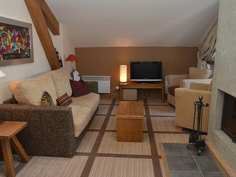 magnifique appartement avec cheminée, holiday rental in Flaine