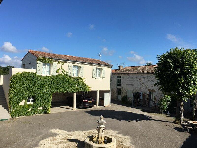 Location Gîte Talmont-Saint-Hilaire, 2 pièces, 2 personnes, holiday rental in Poiroux