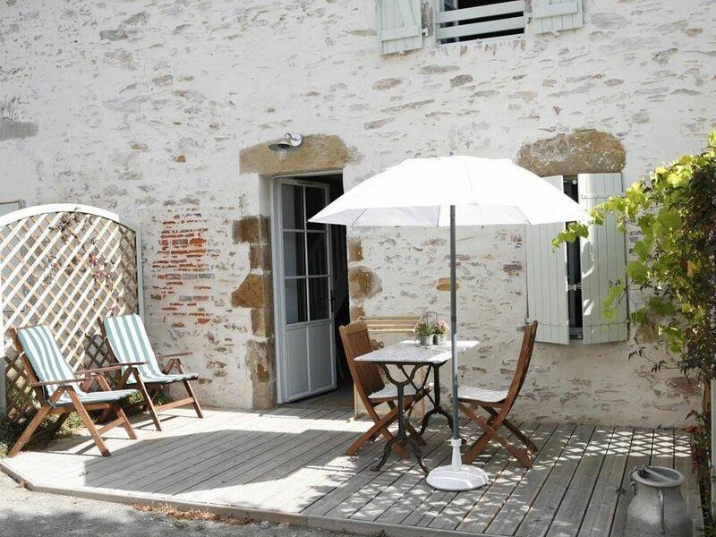 Location Gîte Talmont-Saint-Hilaire, 2 pièces, 3 personnes, holiday rental in Poiroux