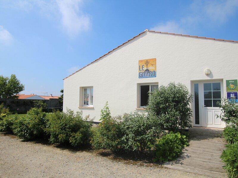 Le Givaro, vacation rental in Beauvoir-Sur-Mer
