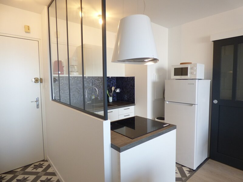 TRES BEL APPARTEMENT VUE MER,  ENTIEREMENT REFAIT A NEUF, holiday rental in Givrand