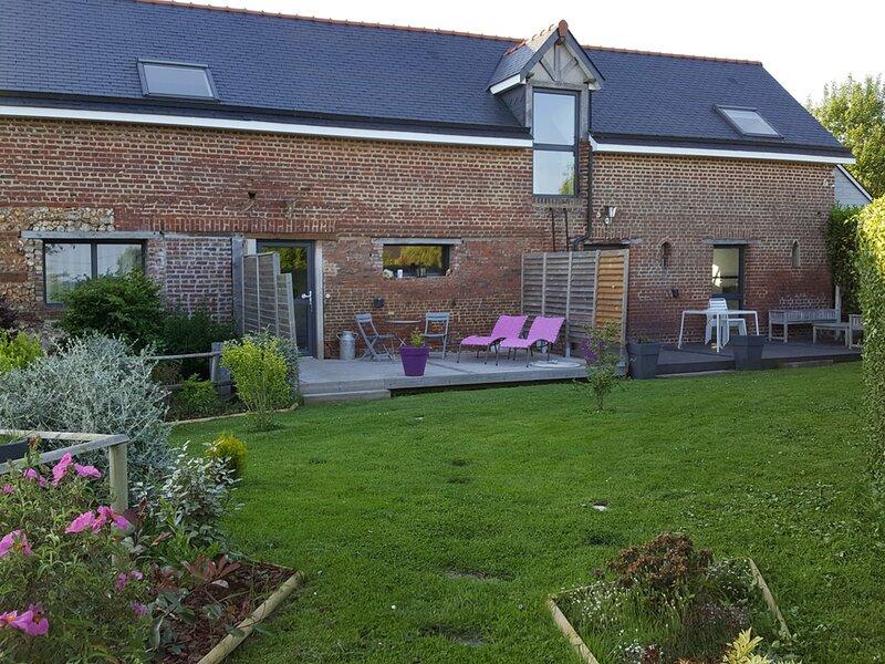 La petite terrasse, aluguéis de temporada em Montivilliers