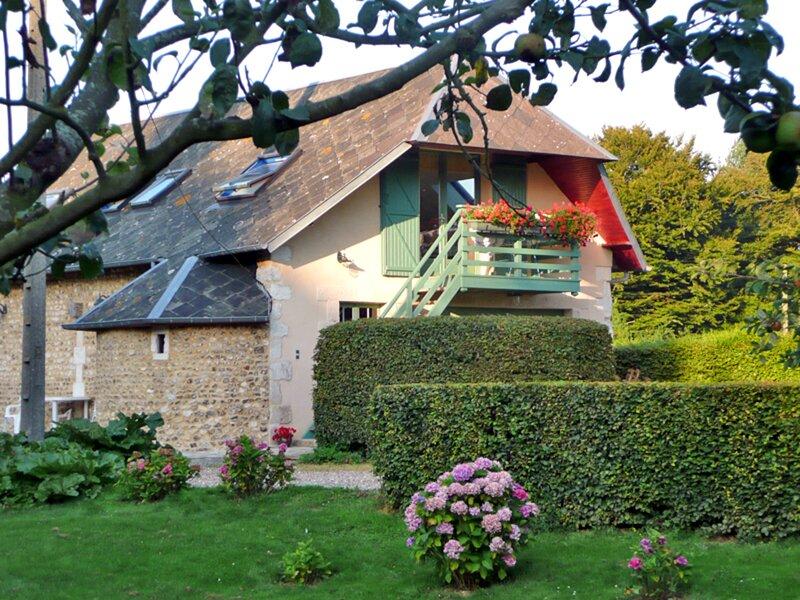 Les Hortensias, location de vacances à Le Tilleul
