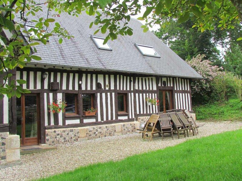L'Ancien Pressoir de Tancarbot, alquiler de vacaciones en Gruchet-le-Valasse