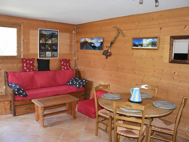 Cosy et tranquille- Rez-de-jardin sans vis à vis, location de vacances à Pralognan-la-Vanoise