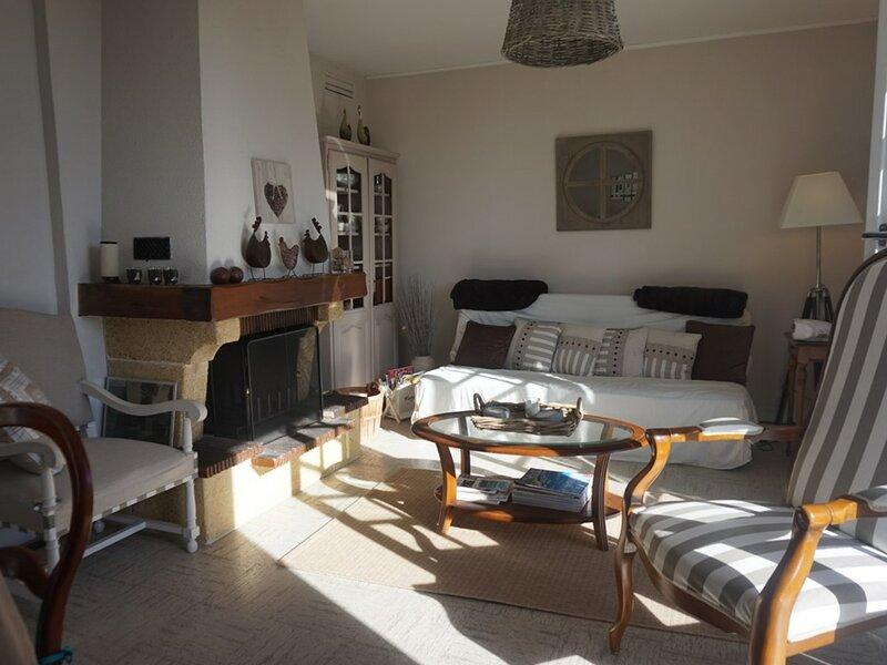 Maison de vacances de plain-pied pour 6 personnes, holiday rental in Petiville