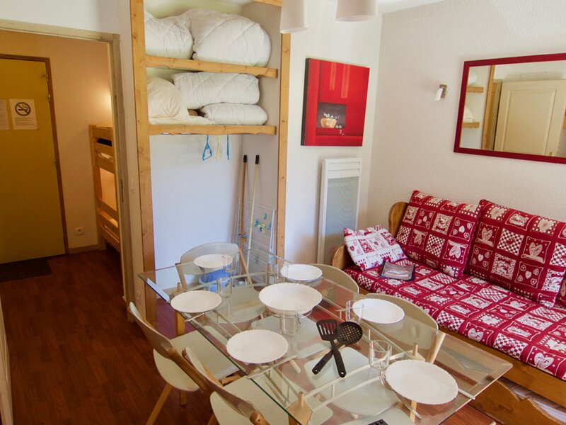 emplacement top,  départ des pistes 6 pers, holiday rental in Valfrejus