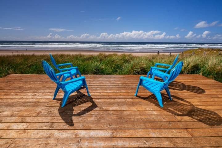 Unrivaled Oceanfront Retreat With 180 Degree Epic Views of Two Capes, Pet Friend, casa vacanza a Cloverdale