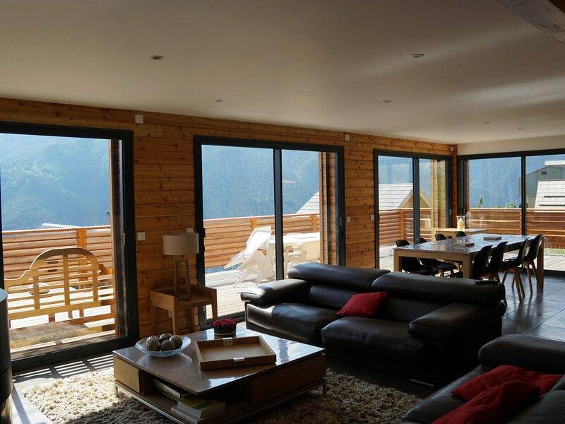Magnifique chalet prestige 16 personnes, Pra Loup, holiday rental in Uvernet-Fours