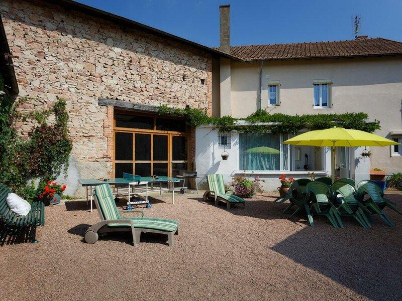 Le Clos Brérat, casa vacanza a Monetay-sur-Loire